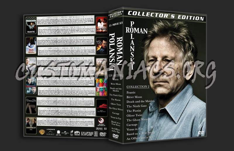 Roman Polanski Collection 2 dvd cover
