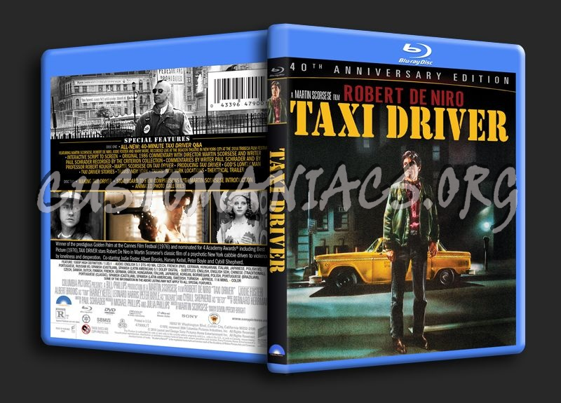 Taxi Driver blu-ray cover