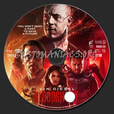 Bloodshot dvd label