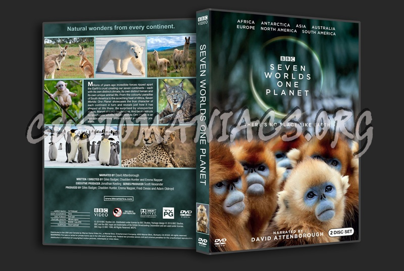 Seven Worlds One Planet dvd cover