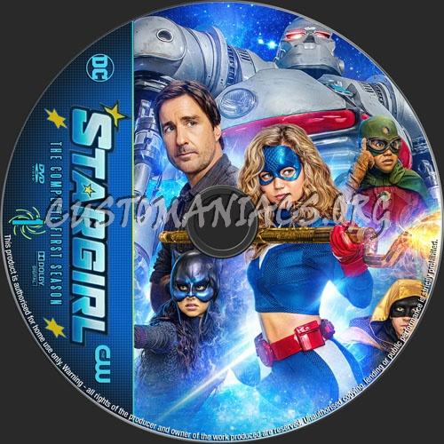 Stargirl Season 1 dvd label