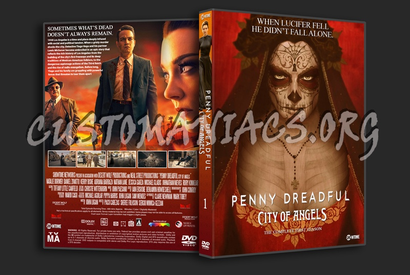 Penny Dreadful City Of Angels Season 1 dvd cover