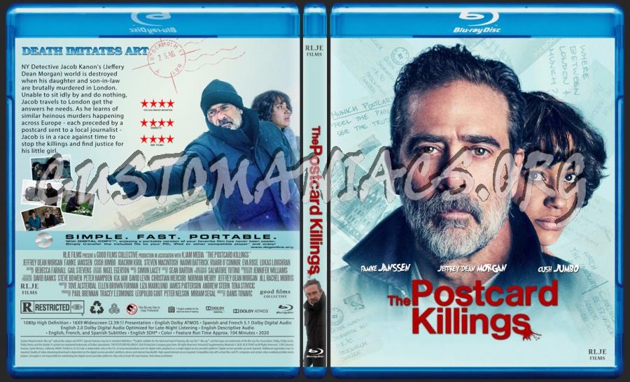 The Postcard Killings blu-ray cover