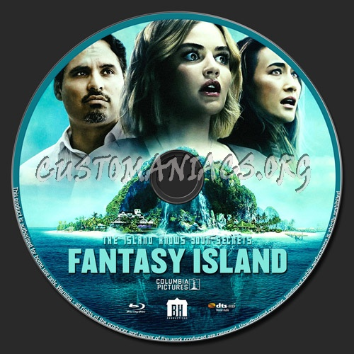 Fantasy Island 2020 blu-ray label