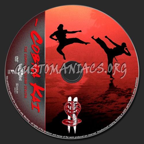 Cobra Kai Season 2 dvd label