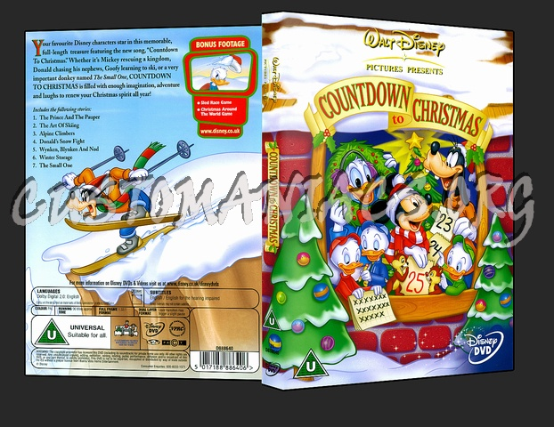 Countdown To Christmas dvd cover