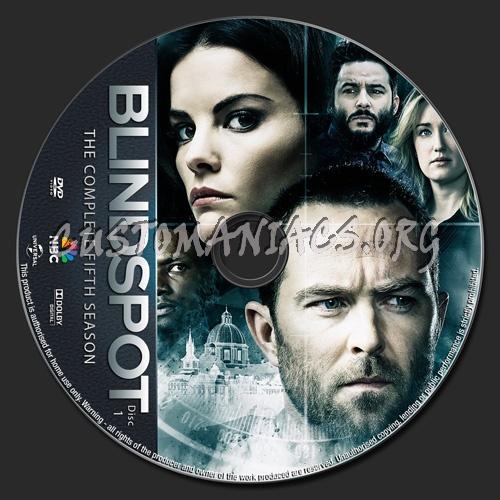 Blindspot Season 5 dvd label