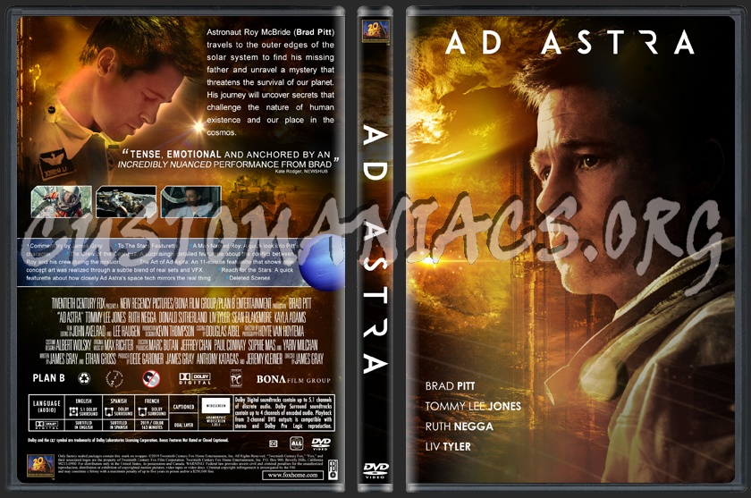 Ad Astra dvd cover