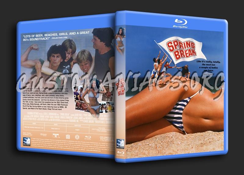 Spring Break (1983) blu-ray cover