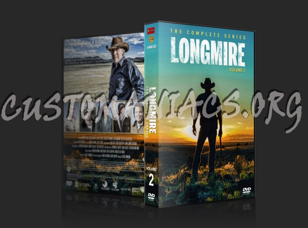 Longmire - The Complete Series - Volume 2 dvd cover