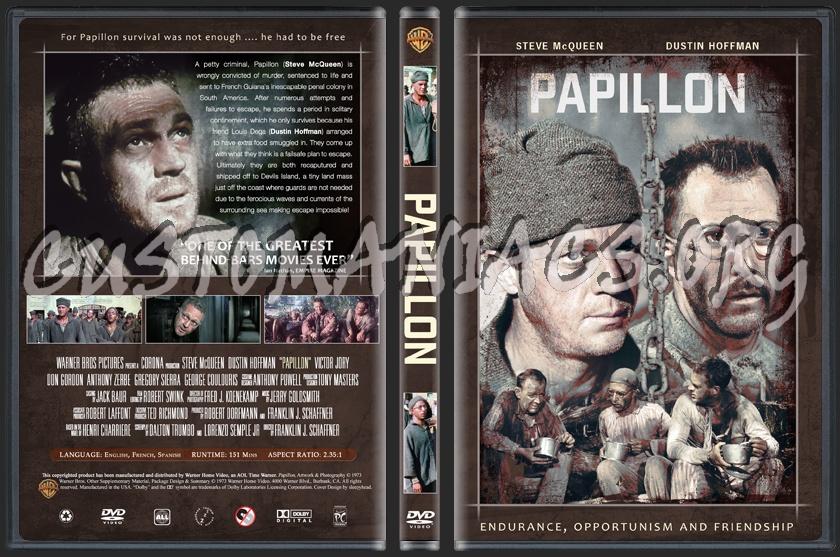 Papillon dvd cover