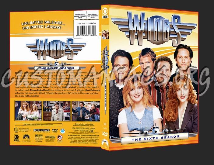 Wings Season 6 dvd cover