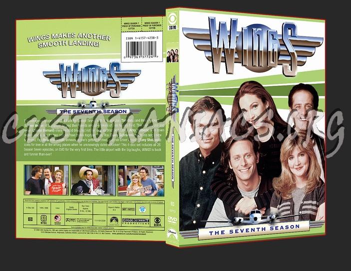 Wings Season 7 dvd cover