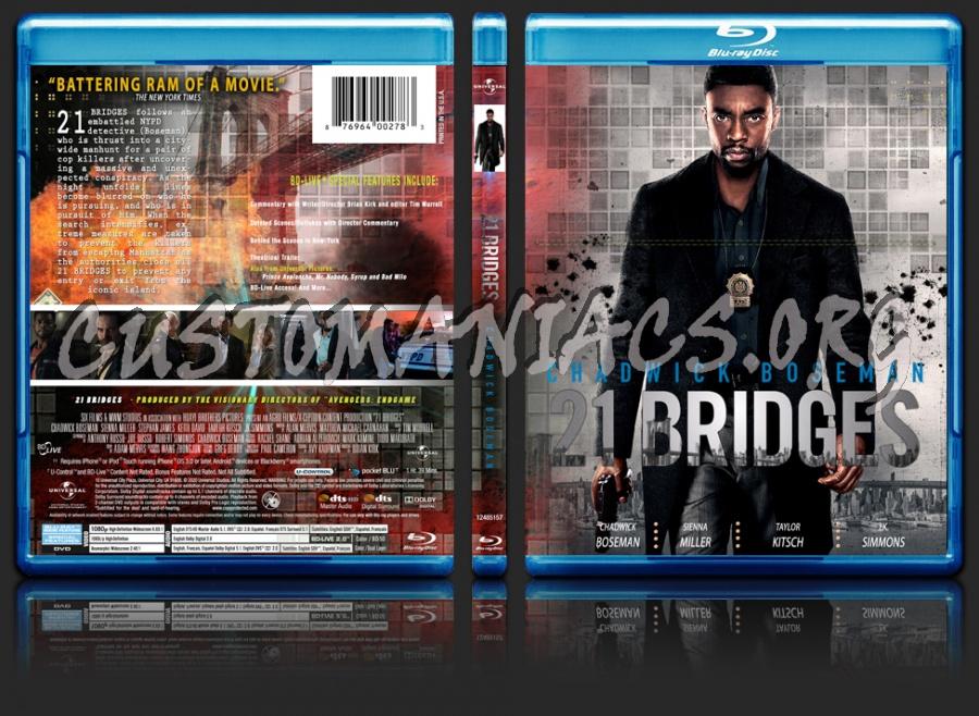 21 Bridges blu-ray cover
