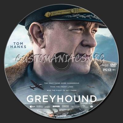 Greyhound dvd label