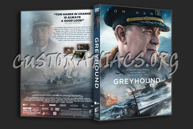 Greyhound dvd cover