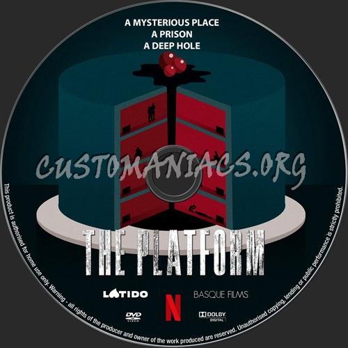 The Platform dvd label