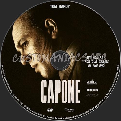 Capone 2020 dvd label