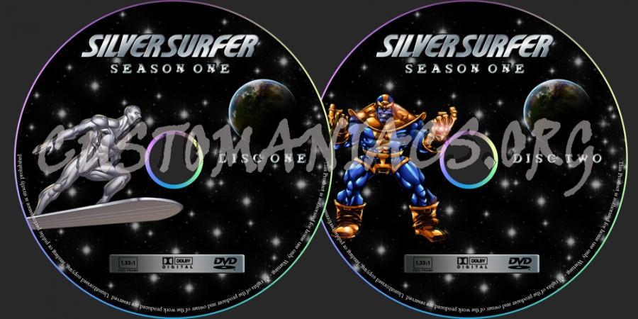Surfer Dvd Silver Surfer Dvd Label
