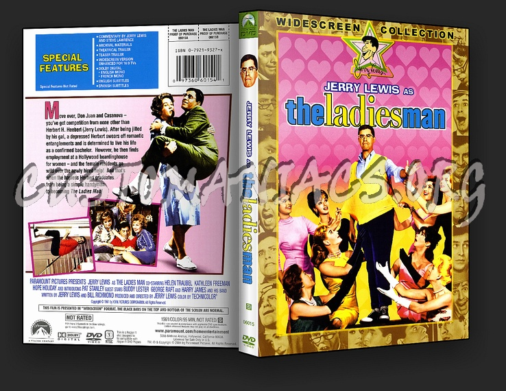 The Ladies Man (1961) dvd cover