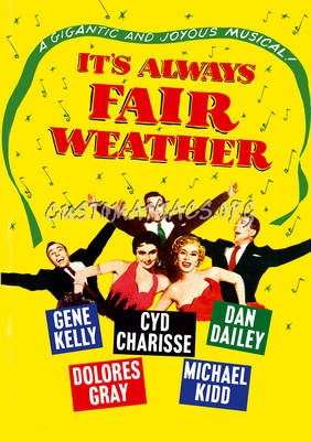 Forum Artwork Movies I - Page 5 - DVD Covers & Labels by ... Its Always Fair Weather