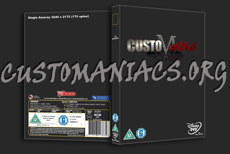 dvd template cover