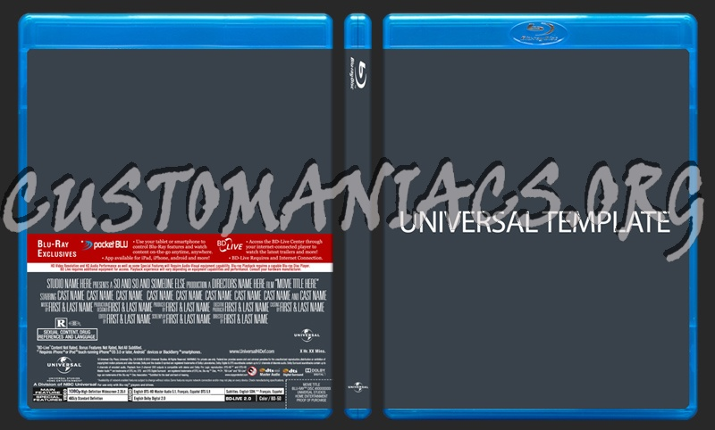 Forum Cover u0026 Label templates - DVD Covers u0026 Labels by ...