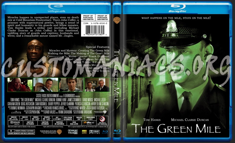 Green Mile Dvd Cover Dvd Label The Green Mile