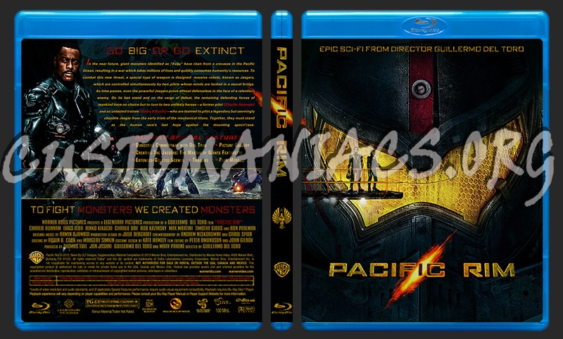 Forum Custom Blu-Ray Covers - Page 34 - DVD Covers ... Pacific Rim Blu Ray Cover