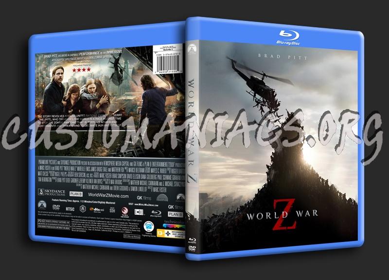 World war z dvd cover
