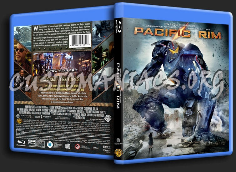 Forum Custom Blu-Ray Covers - Page 219 - DVD Covers ... Pacific Rim Blu Ray Cover