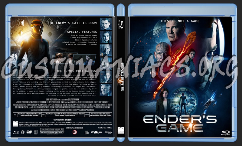 Enders Game Blu Ray | www.imgkid.com - The Image Kid Has It!