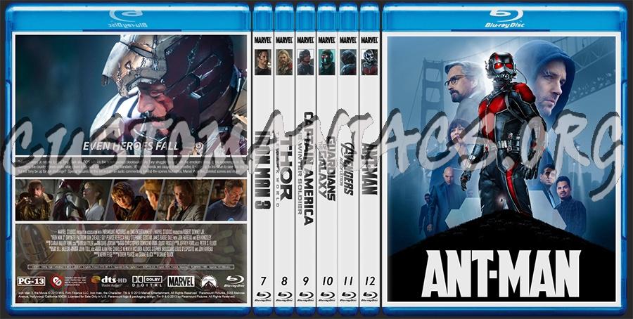 Marvel Studios Collection 2: Iron Man 3 - Ant-Man blu-ray