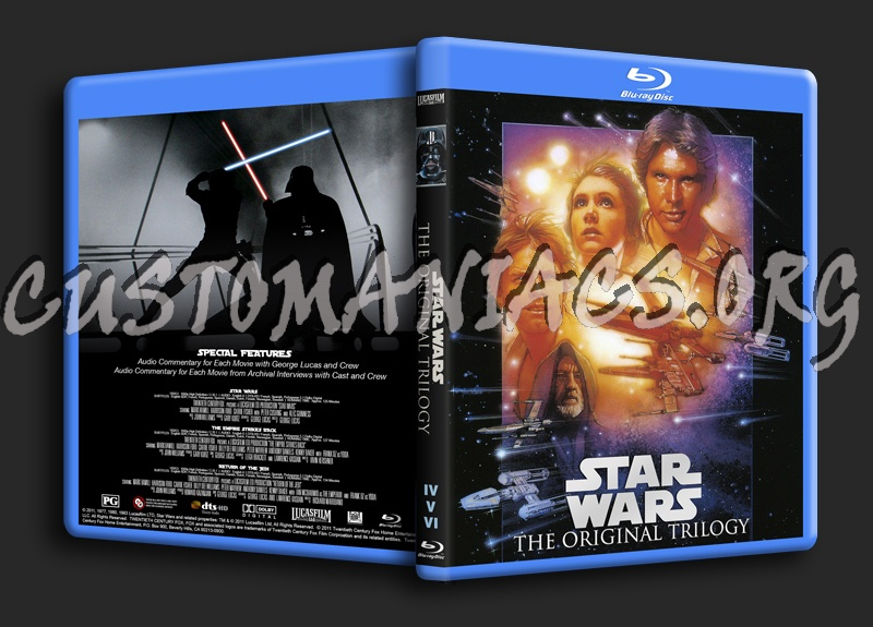 Star Wars The Original Trilogy Blu Ray Cover Dvd Covers Labels By Customaniacs Id 244814 Free Download Highres Blu Ray Cover