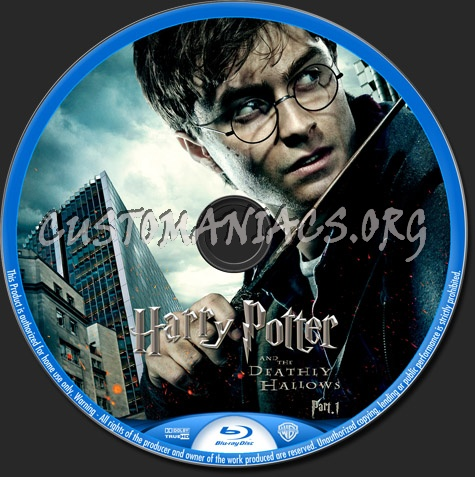 harry potter and the deathly hallows part 1 blu ray cover. Harry Potter and the Deathly