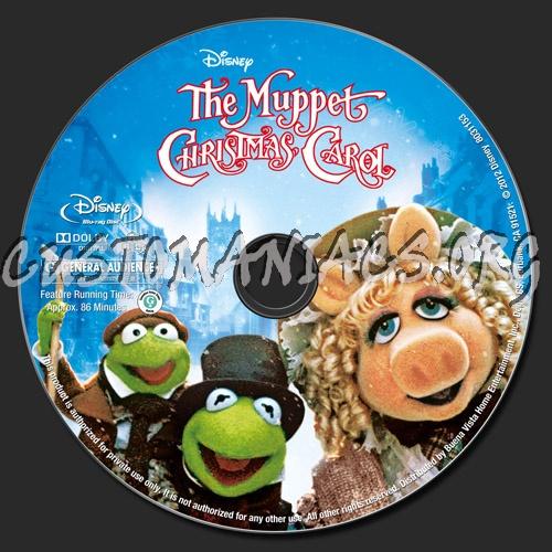 The Muppet Christmas Carol: Forum Custom Blu-Ray Labels