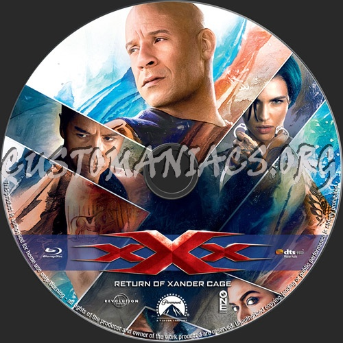 Forum Custom Blu-Ray Labels