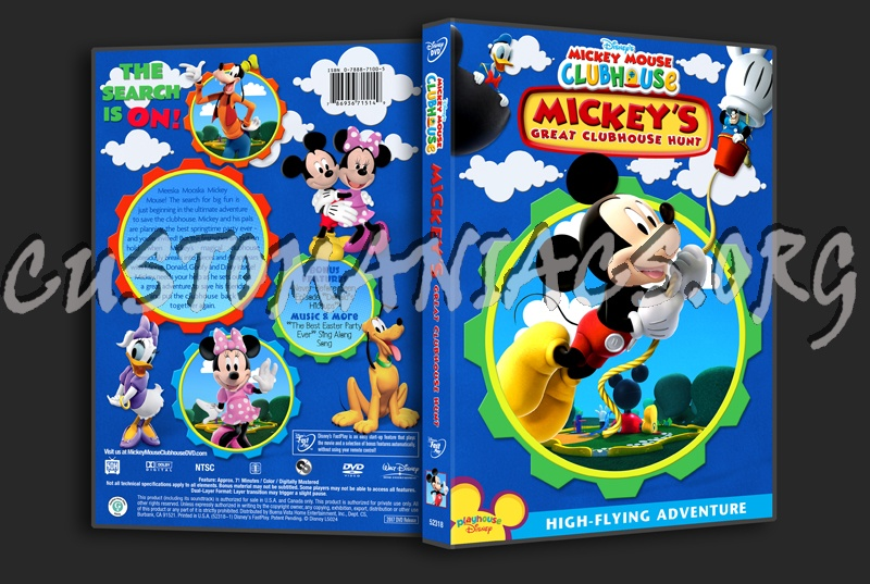 Mickey Mouse Clubhouse - Mickeys Great Clubhouse Hunt dvd ...