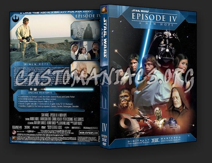 Star Wars Episode 4 Dvd. Star Wars Episode IV - A New