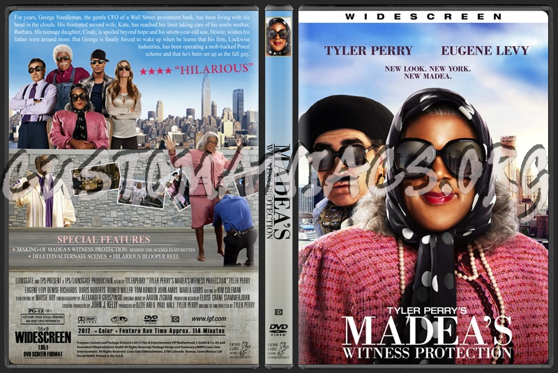 madeas witness protection dvd cover - photo #5