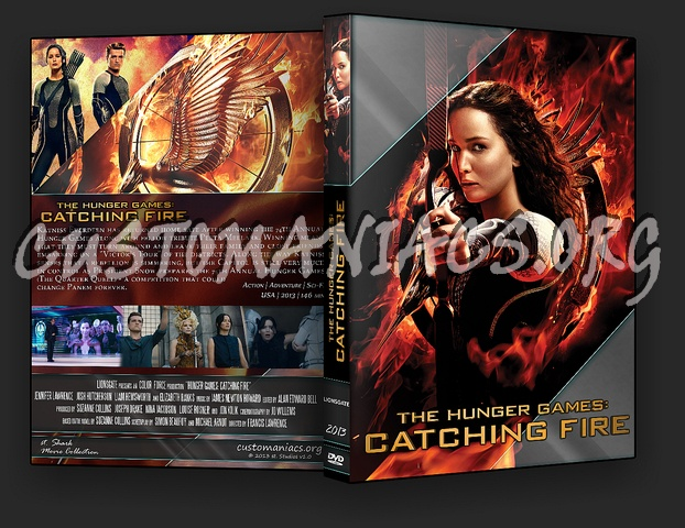 Catching Fire Dvd Cover Catching fire dvd cover