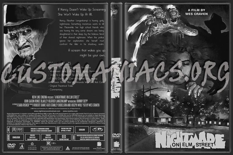 nightmare on elm street dvd