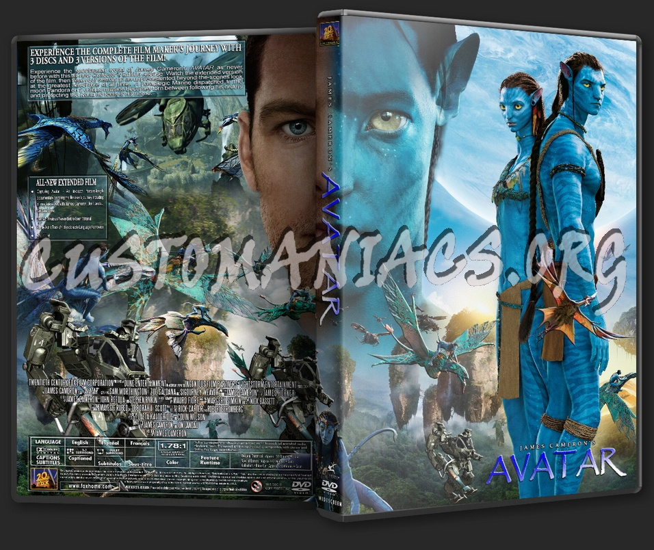 Avatar Dvd: DVD Covers & Labels By