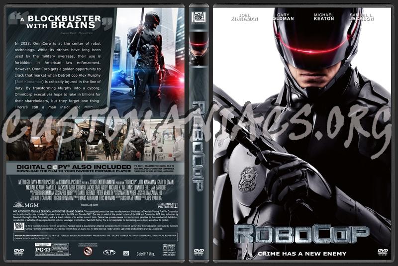 Robocop 2014 Dvd Cover Art