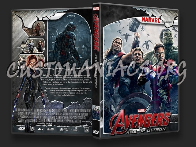 The Avengers Age of Ultron dvd cover - DVD Covers & Labels