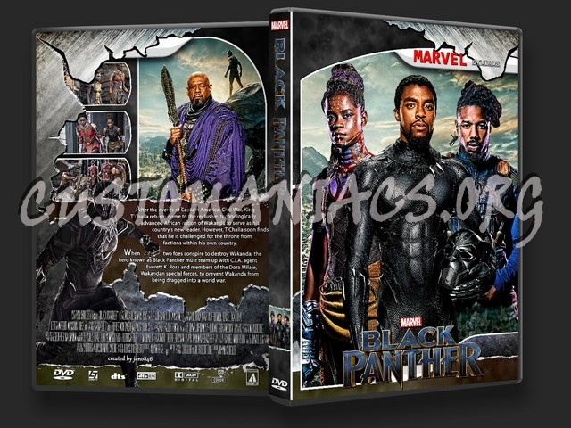 Black Panther Dvd Cover Dvd Covers Labels By Customaniacs Id