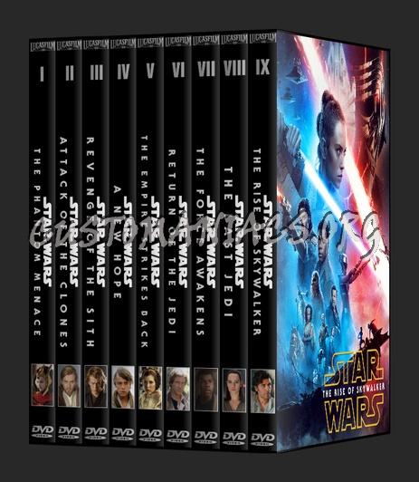 Star Wars The Skywalker Saga Dvd Cover Dvd Covers Labels By Customaniacs Id 261341 Free Download Highres Dvd Cover