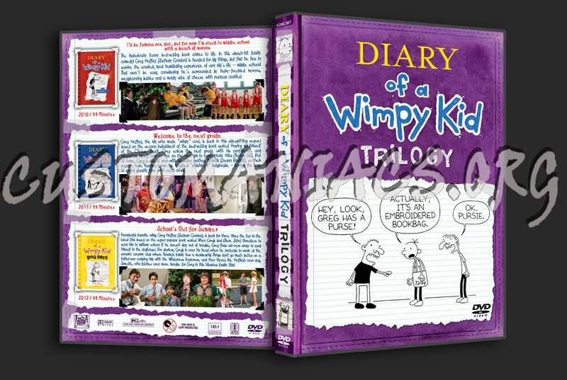 Diary Of A Wimpy Kid Trilogy Dvd