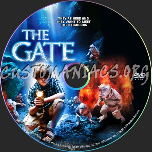 Warriors Gate 2 Film Cda: DVD Covers & Labels By