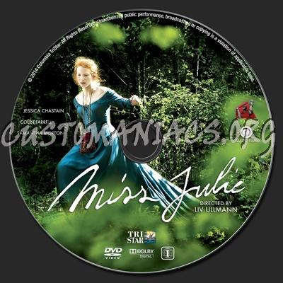 Miss Julie 2014 Dvd Cover
